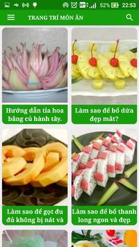 Trang Trí Món Ăn - Nghệ Thuật Nấu Ăn - Trang Trí screenshot 1