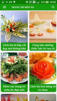 Trang Trí Món Ăn - Nghệ Thuật Nấu Ăn - Trang Trí screenshot 3