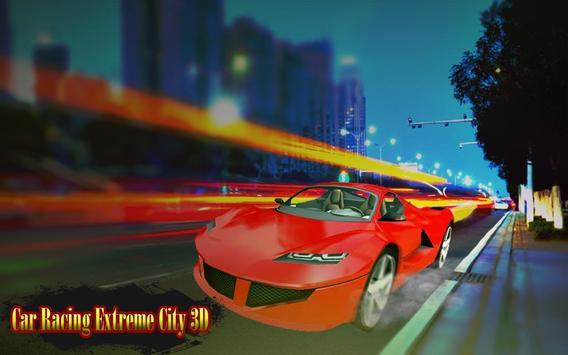 Car Racing Extreme City 3D poster