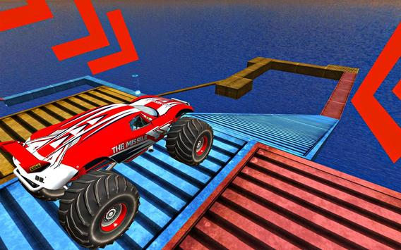 Impossible Tricky Tracks Car Stunt Truck Driving screenshot 3