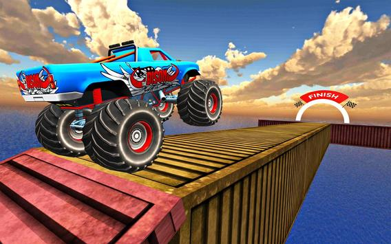 Impossible Tricky Tracks Car Stunt Truck Driving screenshot 21