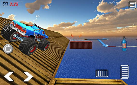 Impossible Tricky Tracks Car Stunt Truck Driving screenshot 2