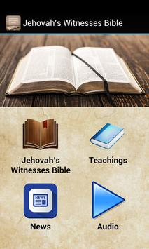 Jehovah's Witnesses Bible poster