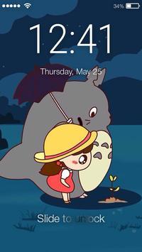 My Toro Kawaii Screen Lock poster