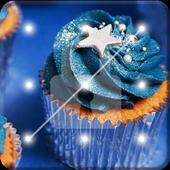 Galaxy Cupcakes Nice Screen Lock icon