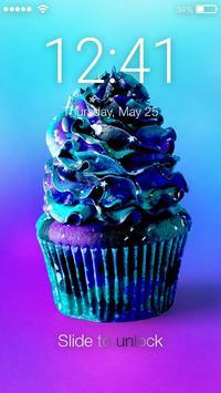 Galaxy Cupcakes Nice Screen Lock poster