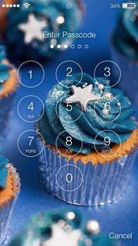 Galaxy Cupcakes Nice Screen Lock apk screenshot