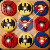 Superhero Nice Cookies Screen Lock icon