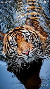 Tiger Screen Lock apk screenshot