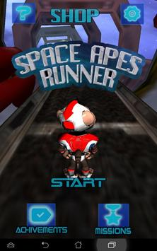 Space Apes Runner poster