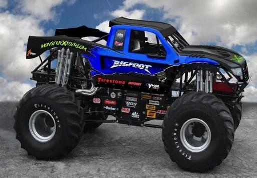 Monster Truck Wallpaper HD poster
