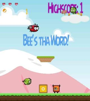 Angry Bee! Flapping Mad! apk screenshot