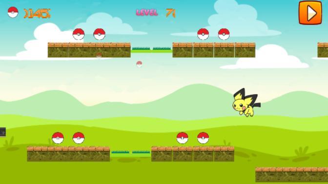 Super Pikachu Monster Run 2 poster