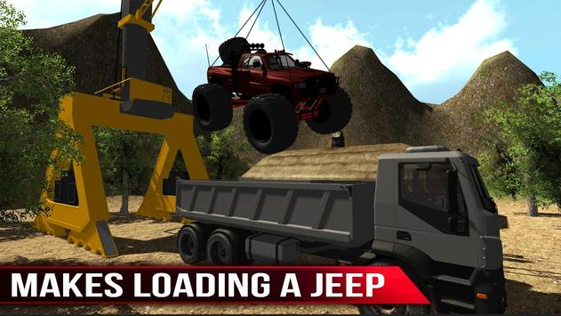 Monster Trucks Transporter 3D screenshot 4