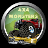 4x4 Monster Cars rally icon
