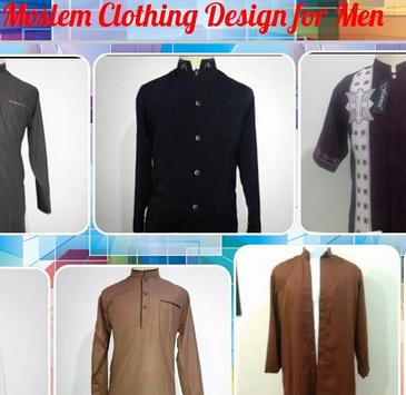 Moslem Clothing Design for Men poster