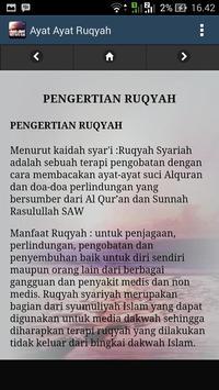 Ayat Ayat Ruqyah screenshot 4