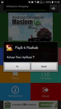 Fiqih 4 Mazhab apk screenshot