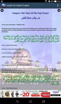 Hadith Sunan Ibn Majah English screenshot 14