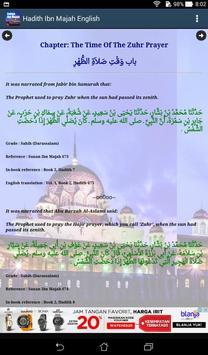 Hadith Sunan Ibn Majah English screenshot 15