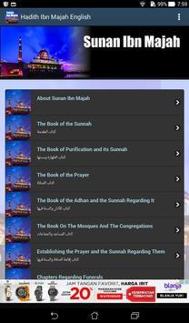 Hadith Sunan Ibn Majah English screenshot 1