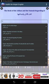 Hadith Sunan Ibn Majah English screenshot 7