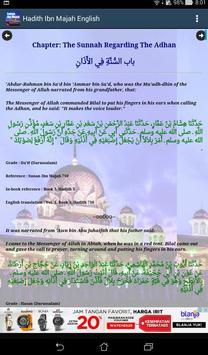 Hadith Sunan Ibn Majah English screenshot 8