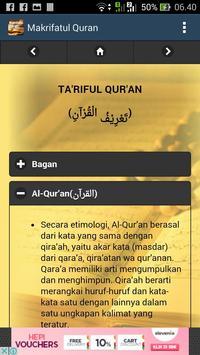 Makrifatul Quran screenshot 3