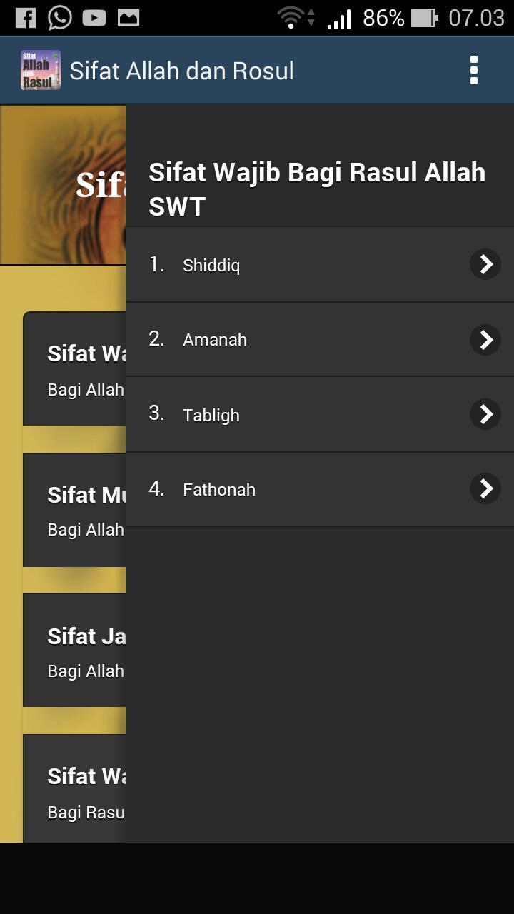 Mengenali Sifat-Sifat Rasulullah S.A.W for Android - APK Download