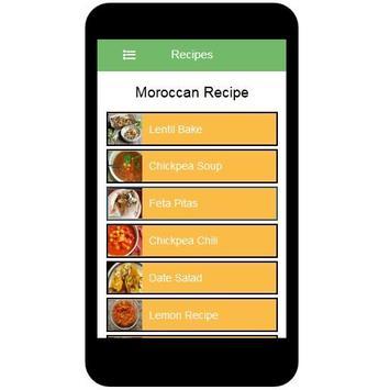 Moroccan Recipes screenshot 1