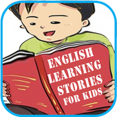 English learning kids stories icon