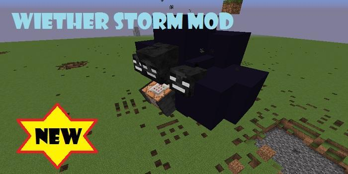 Wither Storm mod poster
