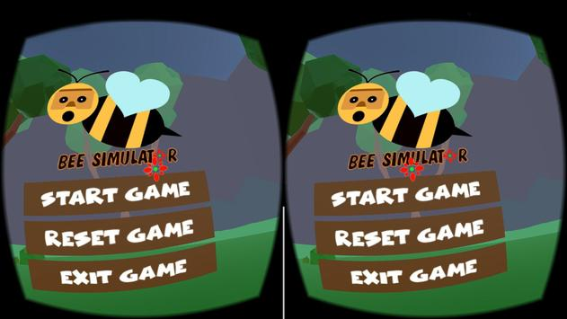 The Bee Simulator VR poster