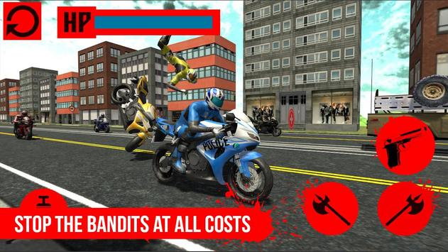 Moto Bike Police Ride PRO apk screenshot