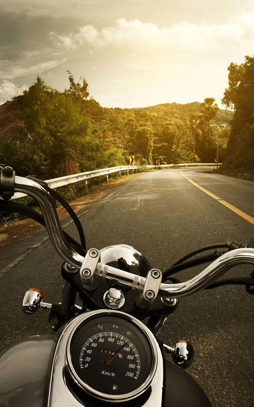... Motorcycle Live Wallpaper screenshot 2 ...