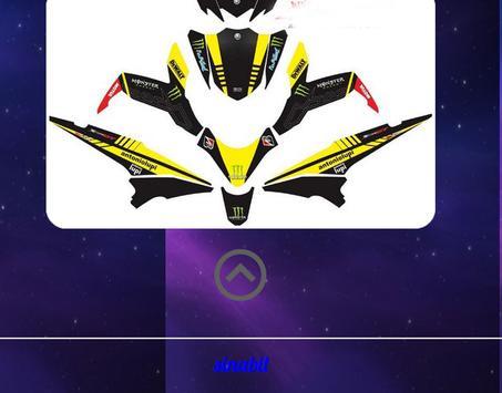 Motorcycle sticker design screenshot 2