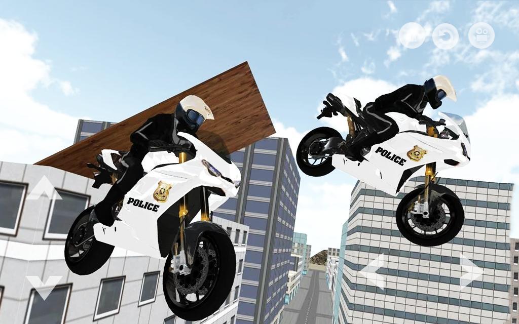 Police Motorbike : Crime Patrol City Bike Rider 3D for