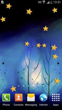 Forest Night Star Free LWP poster