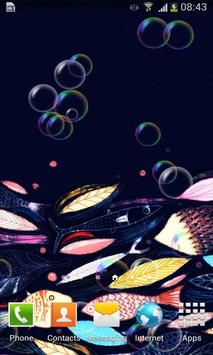 Beauty Underwater Art Free LWP poster