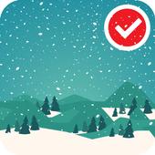 Santa Winter Christmas Eve LWP icon