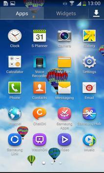 Blue Sky Balloon LWP apk screenshot
