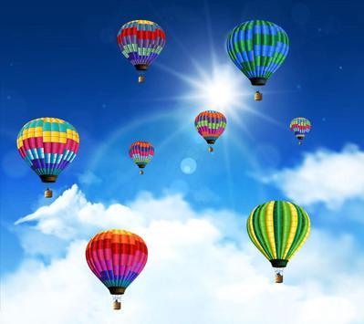 Blue Sky Balloon LWP poster
