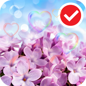 Pink Love Rose LWP icon