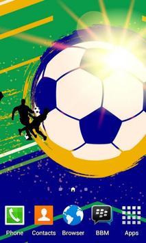 Soccer Spirit Free Wallpaper poster
