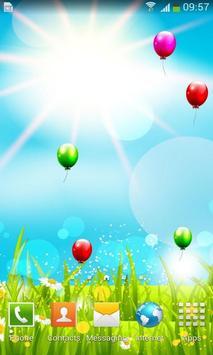 Spring Flower Balloon Free LWP poster