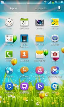 Spring Flower Balloon Free LWP screenshot 2
