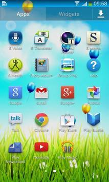 Spring Flower Balloon Free LWP screenshot 3