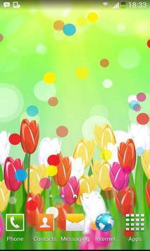 Spring Color Flower Wallpaper poster