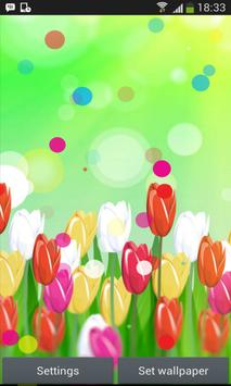 Spring Color Flower Wallpaper apk screenshot