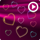 Pink Love Free Live Wallpaper icon